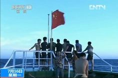 Watch: China Fishing Fleet Arrives at Disputed Spratly Islands - China Real Time Report - WSJ