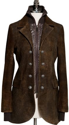 Leather coat from J Gilbert