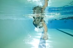 Beat the heat with this Summer Swim Challenge! A great low-impact workout option #fitness #skinnyms