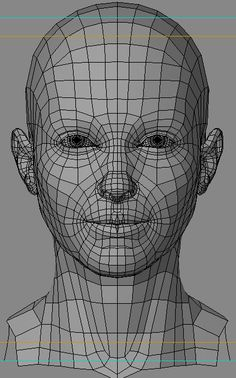 Head topology.