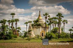 Een pagode is een gebouw dat in veel boeddhistische tempels te zien is. Het heeft de vorm van een toren die uit verschillende, steeds kleiner wordende verdiepingen bestaat. Elke verdieping heeft een eigen dak.  Vooral in Bagan zijn vele pagodes te vinden. Dit is mede te danken aan een reeks koningen die elkaar probeerden te overtreffen met nog mooiere gebouwen. In 1287 veroverde de Mongoolse heerser Koeblai Khan Pagan.