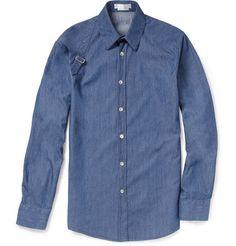 Alexander McQueen Harness Denim Shirt