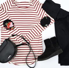 outfit flatlay spring outfit inspiration spring outfit ideas www.shopcsgems.com