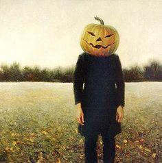 Pumpkinhead - Self Portrait, Jamie Wyeth, This has always been a favorite of mine