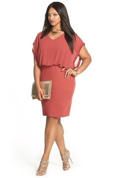JUNAROSE Blouson Dress & Accessories (Plus Size) available at #Nordstrom