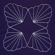 Free Sashiko patterns in multiple formats for machine embroidery