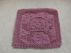 Ravelry: Snowbaby Cloth pattern by Elaine Fitzpatrick