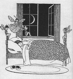 Winifred Bromhall, 1937 #art #illustration #fairy