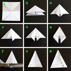 nurin kurin: DIY: Kuusi origami