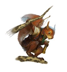 Redwall Races - Squirrel 2.0 by chichapie.deviantart.com
