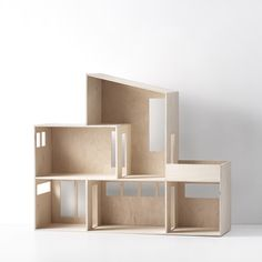 Funkis Doll House from ferm LIVING kids - FAST DELIVERY Box Toys, Miniature Dolls, Miniature Houses, Modern Dollhouse, Diy Dollhouse, Dollhouse Bookcase, Doll Furniture, Dollhouse Furniture, Kids Furniture