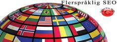 Flerspråklig seo - Norsk, Engelsk, Dansk, Finsk, Svensk, Fransk, Tysk