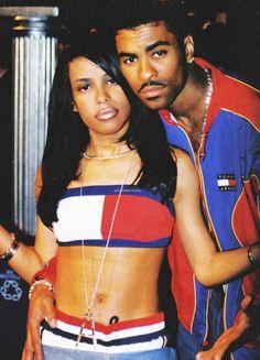Aaliyah and Ginuwine 1996