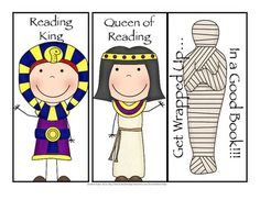Freebie! Your kids will love reading with these Ancient Egypt bookmarks! The three styles allow students to choose the one they like best!