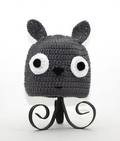 Totoro beanie (must figure out the pattern...)