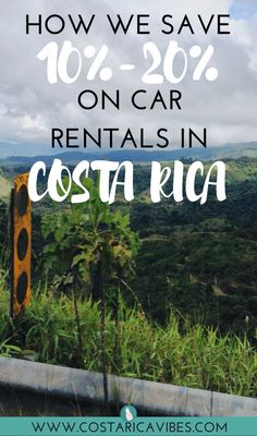 FInd out how to get the best deal on your Costa Rica car rental. With this exclusive deal you can save up to get a free second driver, have deductible, get a free car seat to use, and more! Find out about the best Costa Rica rental car company. Travel Destinations, Travel Tips, Budget Travel, Travel Hacks, Travel Advice, Travel Box, Travel Money, Usa Travel, Honduras