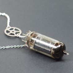 Hey, I found this really awesome Etsy listing at https://www.etsy.com/listing/168330624/steampunk-jewelry-necklace-vacuum-tube