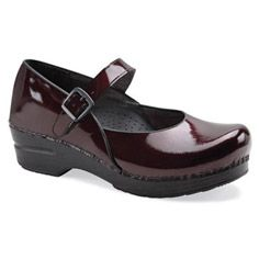 Need some new Dansko clogs. Maybe the Maryjane in Black Cherry Patent? Dansko Nursing Shoes, Dansko Shoes, Mary Janes, Kitchen Shoes, Clogs, Chef Shoes, Orthopedic Shoes, Patent Shoes, Canada