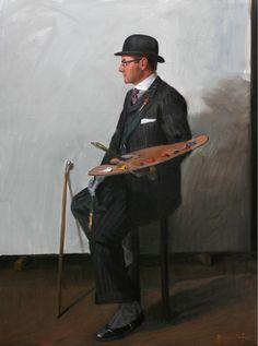 Self Portrait by Michael Shane Neal