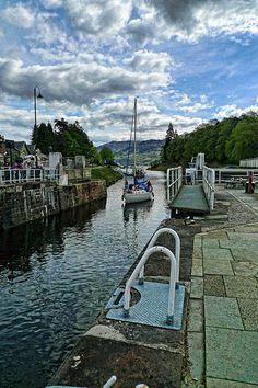 Fort Agustus, Loch Ness, Scottish Highlands