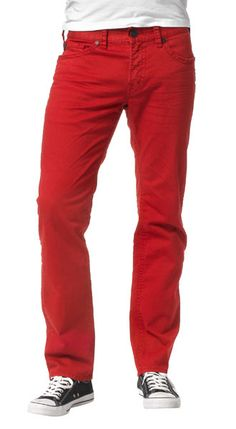 @menshealthmag's Affordable Spring Styles with the @silverjeansco Konrad in red!