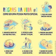 Como ser uma pessoa especial :)
