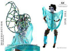 K2K-Trinidad Carnival 2012-Carnival Costume-Caribbean Sea 1