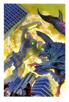 Pacific Rim by Alex Ross *