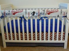 A personal favorite from my Etsy shop https://www.etsy.com/listing/235253277/vintage-cars-crib-coordinates