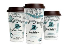 """Since Caribou Coffee relaunched its brand in the spring of 2010, its cups have become iconic and beloved by customers. Each year, the brand asks the question 'What do you stay awake for?' and then answer it with optimistic, authentic and fun """"Bousims"""" expressed on the cups. This year Colle+McVoy kept the cups fresh by taking a more illustrative approach to the design."""