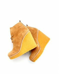 Tory Burch Suede Wedge Booties - Booties - Shoes at Viomart.com