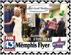 What GREAT V.I.B. we had – check out the video on MarriedInMemphis.com and join us Oct. 27th 2013 for the Fall Bridal Show.