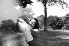 Photo by Brian Slawson Photography. Engagement shoot. #abstract #black and white