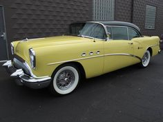 1954 Buick Special. Maintenance/restoration of old/vintage vehicles: the material for new cogs/casters/gears/pads could be cast polyamide which I (Cast polyamide) can produce. My contact: tatjana.alic@windowslive.com