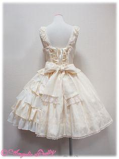 Rose Dress Up JSK, Angelic Pretty