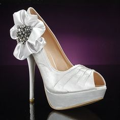 Metallic Wedding Shoes / Love this new brand Liliana! ||