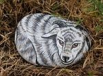 Rockpainting - Goat 0002