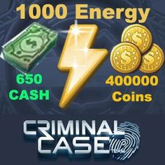 Get your free 500 criminal case cash, limited time only! hurry and start to redeem your cash now