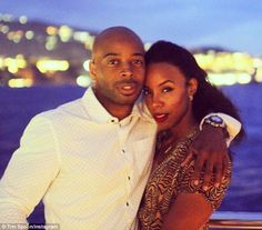 'Forever':On Tuesday, Rowland celebrated three years of marriage with her manager-turned-husband Tim Witherspoon