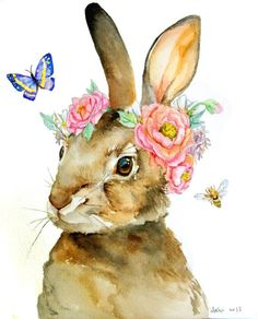 peter rabbit watercolors art - Google Search
