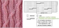 узор Косы араны  Более 175 схем с описанием