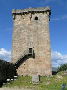 Castillo de Monterrei o Monterrey, Ourense.