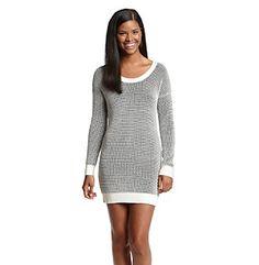 BCBGeneration™ Reverse Waffle Sweater Dress