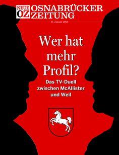 In unserer aktuellen iPad-Ausgabe beschäftigen wir uns mit dem TV-Duell zwischen David McAllister (CDU) und Stephan Weil (SPD).  www.noz.de/digitalabo