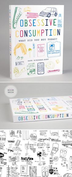 I love this artist! Obsessive Consumption by Kate Bingaman-Burt.