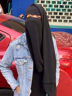 Niqab Fashion, Modest Fashion Hijab, Muslim Fashion, Fashion Dresses, Beautiful Muslim Women, Beautiful Hijab, Hijab Niqab, Mode Hijab, Hijabi Girl
