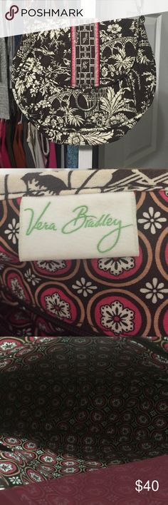 Very Bradley satchel/hipster Gently used, adjustable strap, may need some cleaning but in great condition!! Vera Bradley Bags Crossbody Bags