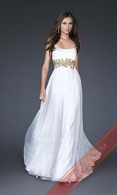 I know this is a prom dress, but this is exactly what I want for my wedding dress. It works perfectly with my theme. <3