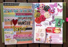 I <3 Washi Tape Smash Journal