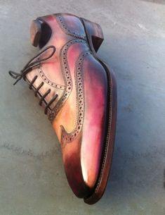 Landry Lacour patina design shoes
